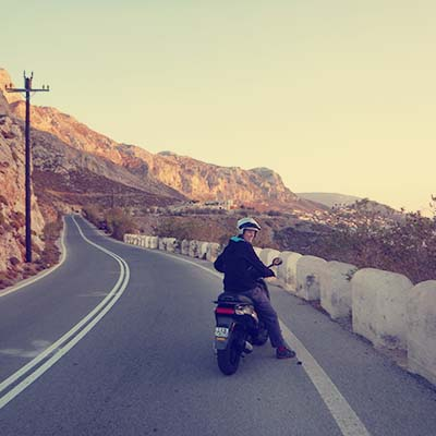 kalymnos-scooter