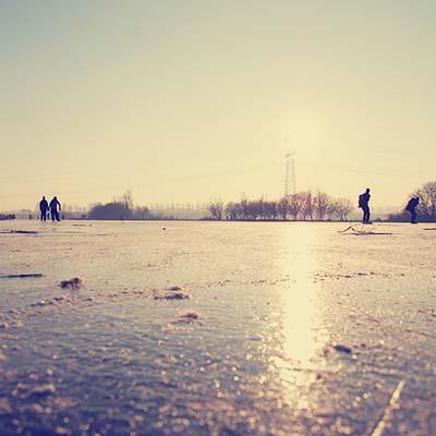 Twiske - Ice skating