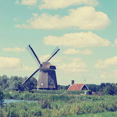 Twiske - windmill