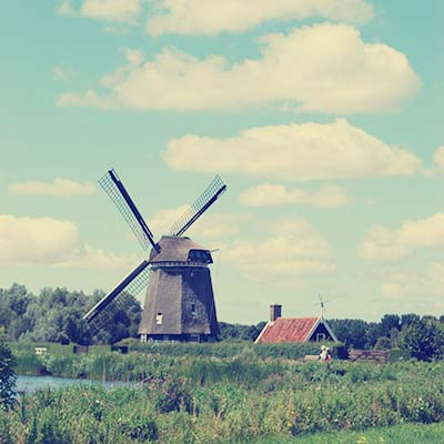 Twiske - windmill