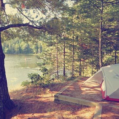 Voyageurs - camping
