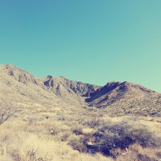 Parks a t Globe - Franklin Mountains