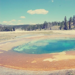 Parks a t Globe - Yellowstone