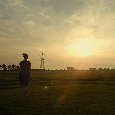 The Tramp - sunset