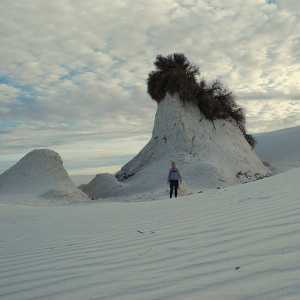 White Sands - pedestal