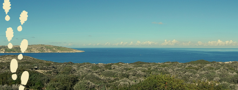 view of the coast of malta