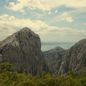 climbing paklenica - anica kuk