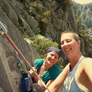 climbing paklenica - partner