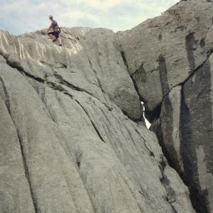 paklenica np - climbing