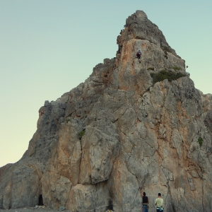 Crete - climbing