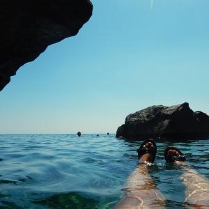 Crete - swimming