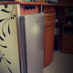 Tiny house 3 - fridge 1